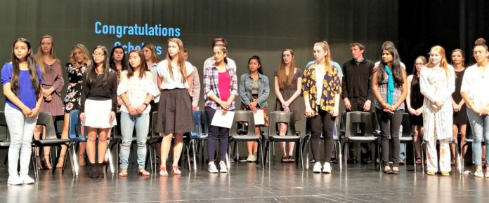 Kent News: Last week five local organizations awarded $52,550 in scholarships to 33 Kent students.