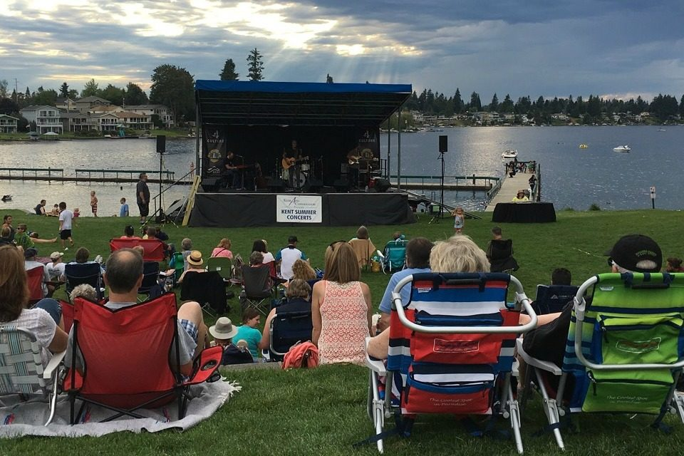 (FROM 2018:) Kent's FREE Summer Concert series starts July 11 & here's the lineup