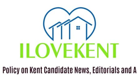 iLoveKent's Policy on Kent Candidate News, Editorials and Ads