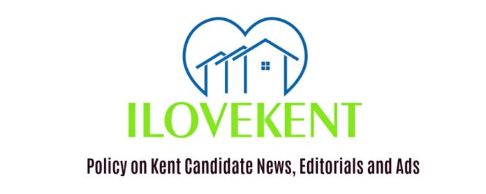 Policy on Kent Candidate News, Editorials and Ads
