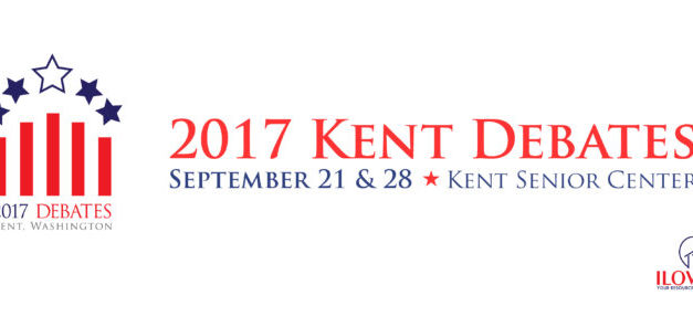 iLoveKent to Host Candidate Debates Sept. 21 & 28, 2017