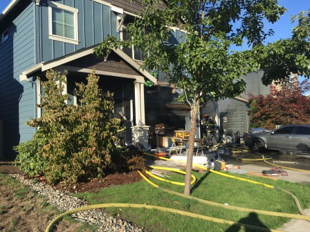 Maple Valley House Fire