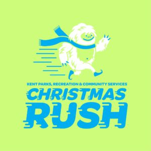 Kent News: The 35th annual Christmas Rush Fun Run and Walk is Sat., Dec. 9, 2017. Registration is now open.