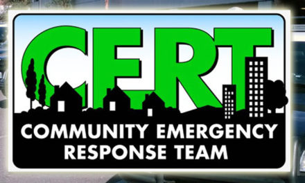 Community Emergency Response Team (CERT) training begins March 8