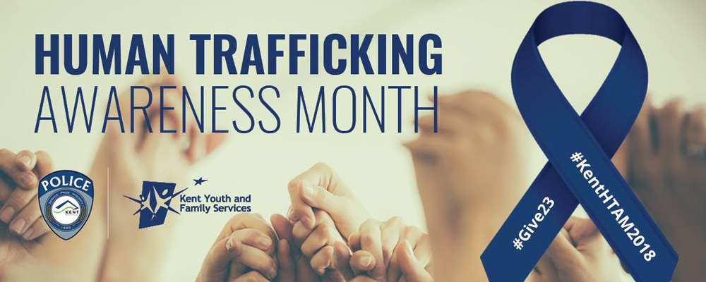 Tuesday is Kent's Human Trafficking Awareness Day; here's how YOU can help