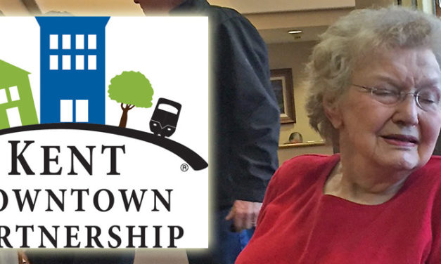 Kent Downtown Partnership: 'Happy 90th Birthday Dee Moschel!'