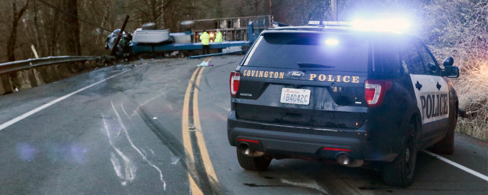 Truck rollover accident kills 1, critically injures 2 Sunday