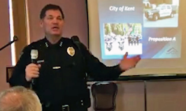 Kent Police holding community meeting on crime, Prop. A on Wed., Mar. 21