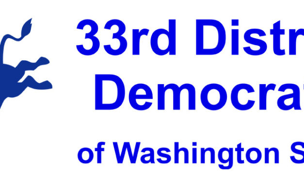 33rd District Democrats Legislative District Caucus will be Sat., March 24