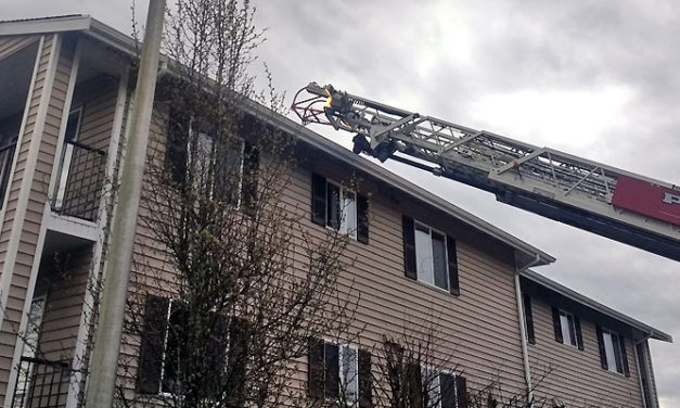 No injures in apartment fire in Kent Tuesday