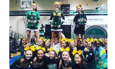 Meeker Middle School Cheerleading Team wins 2018 State Titles