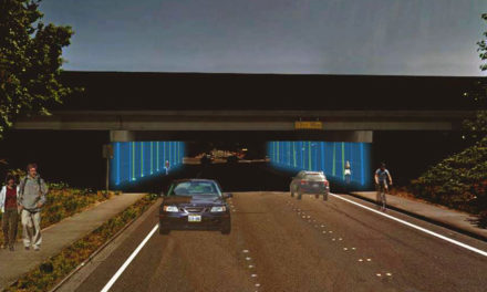 New lighting project under 167/Meeker Street overpass will light up May 10