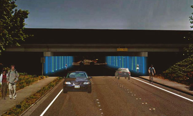 REMINDER: Lighting up of 167/Meeker Street overpass is TONIGHT!