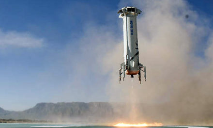 VIDEO: Watch successful launch & landing of Blue Origin's 'New Shepard'