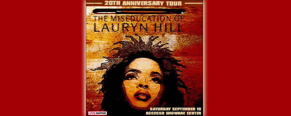 Lauryn Hill to perform at accesso Showare Center on Saturday, Sept. 15
