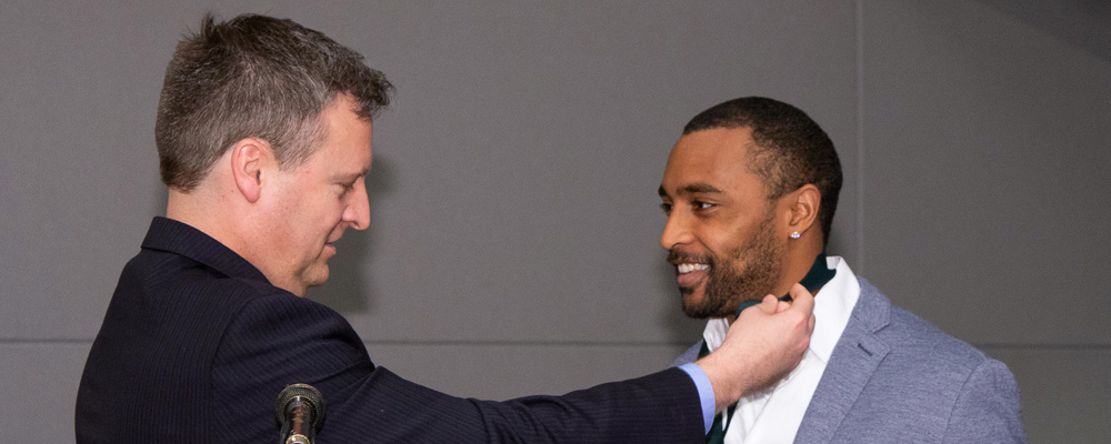 Doug Baldwin's work in South County recognized by County Council