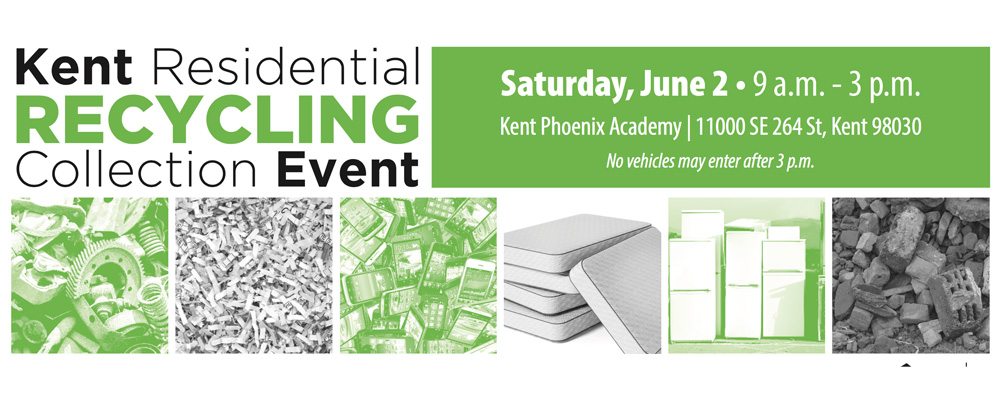 Recycling Event will be this Saturday at Kent Phoenix Academy