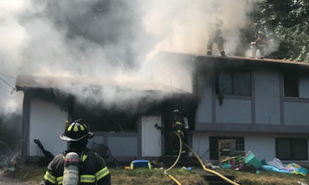 No injuries in house fire in Kent Tuesday afternoon