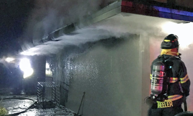 Arson fire torches Lake Meridian Park building