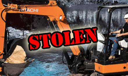 Another excavator has been stolen from a job site in Kent