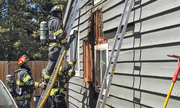 Another fire burns house in Kent Friday