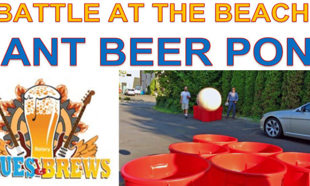 Giant Beer Pong tournament will brew up fun at Blues & Brews Fest Saturday