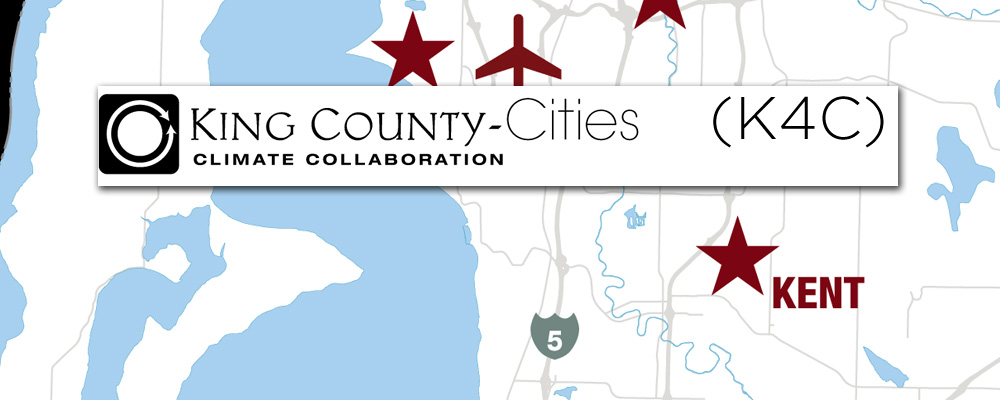 City of Kent joins King County Cities Climate Collaboration (K4C)