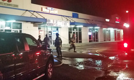 Sprinkler system kept commercial fire to single business Sunday