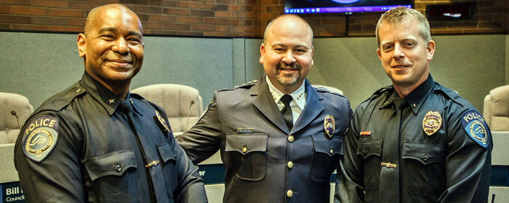 Two Kent Police Officers promoted Friday