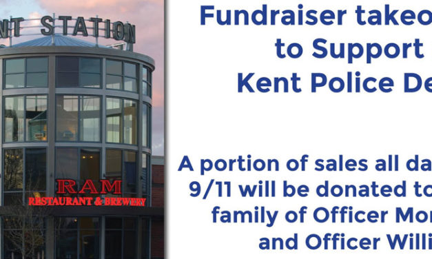 Fundraiser for police families will be at Kent Station RAM Tuesday