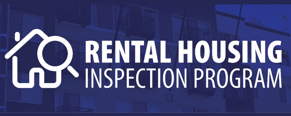 City's Rental Housing Inspection Program now accepting registrations