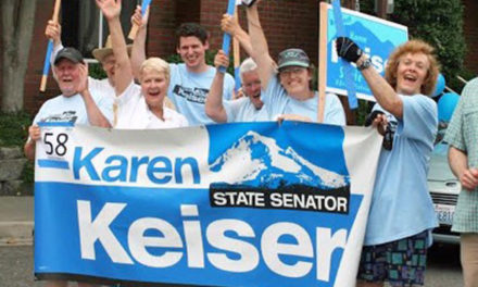 Re-elect Sen. Karen Keiser on Tuesday, Nov. 6