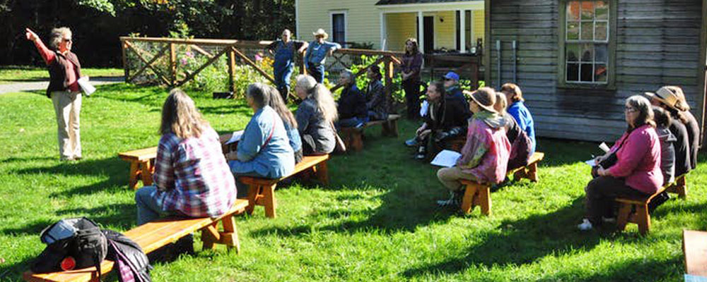 Fall Farm Walk will be at Mary Olson Farm this Sunday, Oct. 21