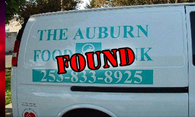 Auburn Food Bank van turns up in Kent with a few 'extra items' in it