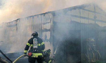 Seven horses killed in barn fire in Kent Monday morning