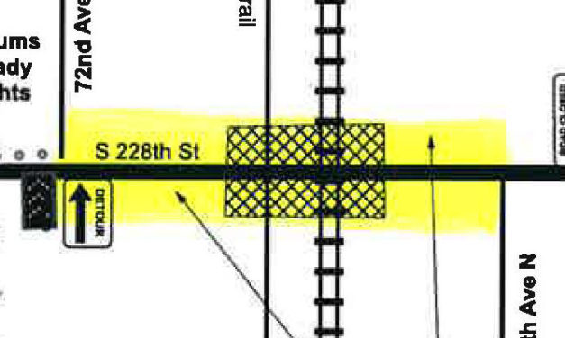 TRAFFIC ALERT: S. 228th Street to close Nov. 27 for ~2 years