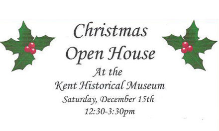 Greater Kent Historical Society's Christmas Open House is Saturday