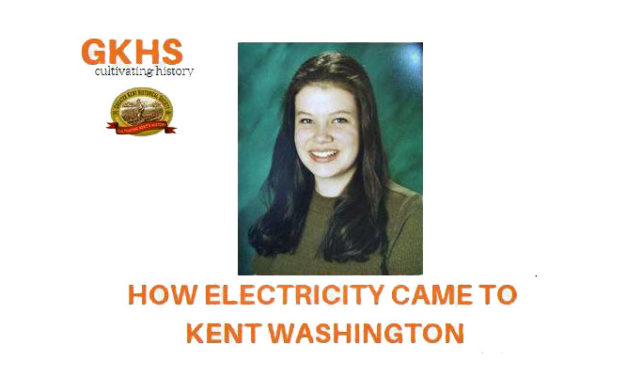 Student will present on 'How Electricity Came to Kent' Jan. 15