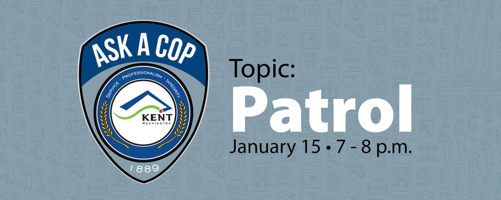 'Ask A Cop' event will be Tuesday, Jan. 15