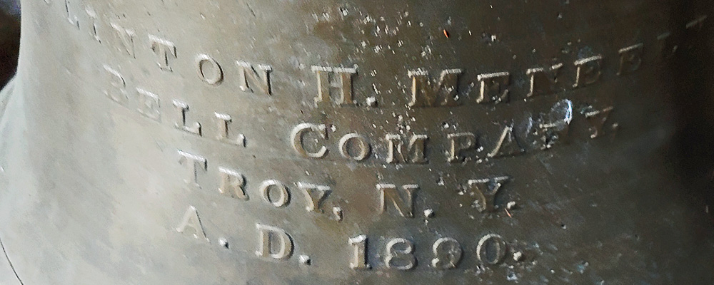 Kent Historical Museum installs 129-year old church bell