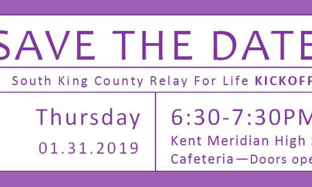 Help Kick-Off 2019 Relay for Life Season on Thursday, Jan. 31