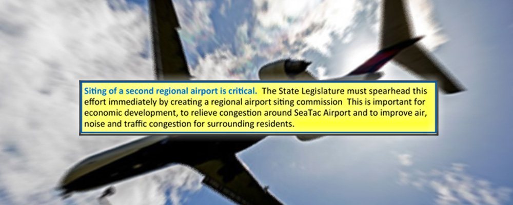 South County Area Transportation Board recommends 2nd regional airport