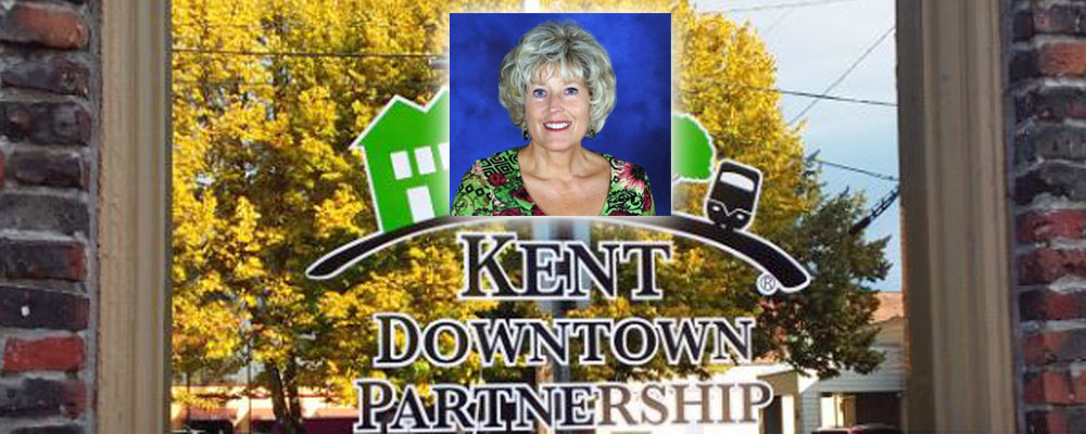 Barb Smith is retiring from the Kent Downtown Partnership