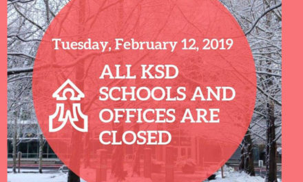All Kent Schools, offices will be CLOSED Tuesday