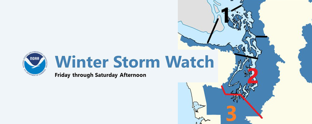 'Winter Storm Watch' issued; snow will start Friday afternoon