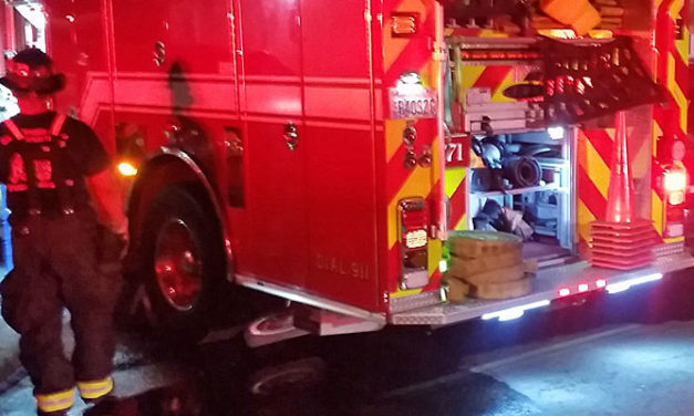 Fire hits mobile home in Kent early Friday