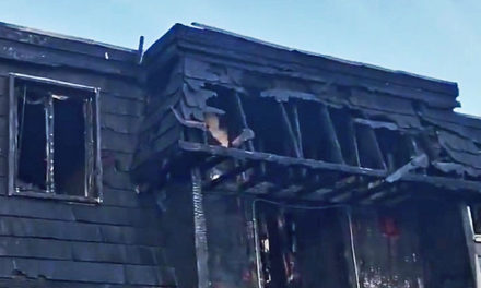 Two-alarm fire displaces 18 in apartment fire Sunday