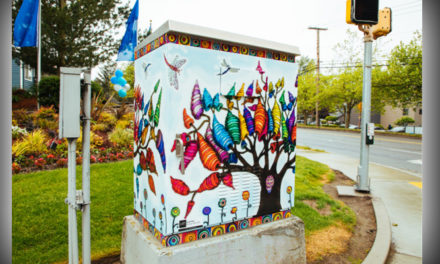 Kent unveils round two of art-wrapped traffic signal control boxes