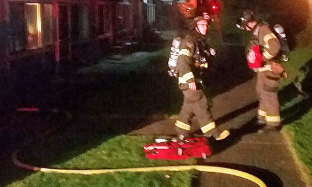 Bathroom fire hits home on Kent's east hill early Monday