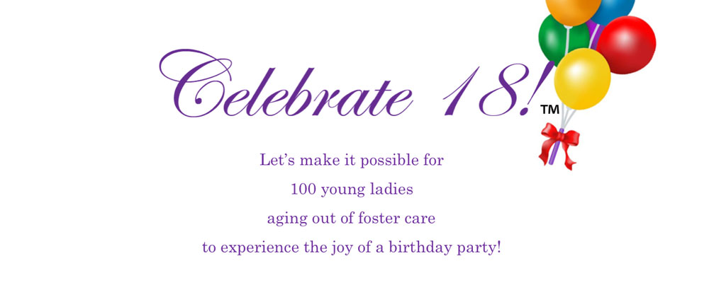 Say 'Happy Birthday' & change a life for a local Foster Girl